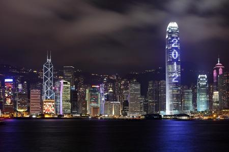 skyscraper show 2012 at night photo