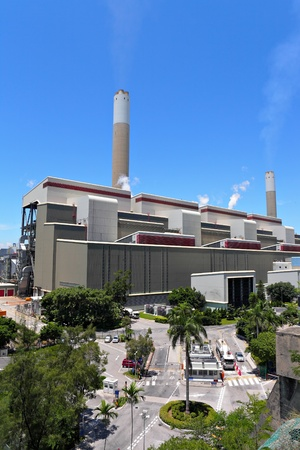 Coal fired electric power plant Stock Photo - 11796896