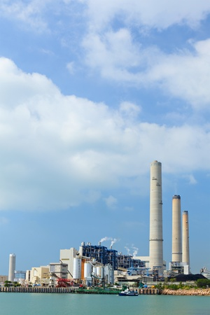 Coal fired electric power plant Stock Photo - 11855914