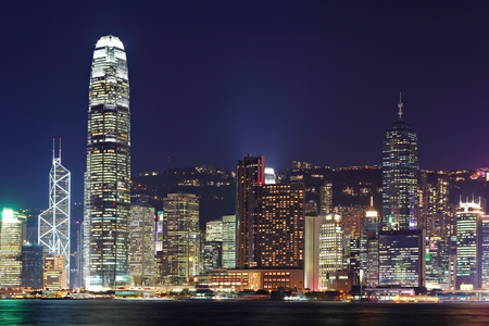 Hong Kong harbor view photo
