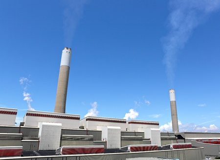 coal fired: coal fired electric power plant