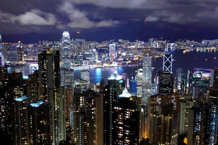 Hong Kong night Stock Photo - 11991938