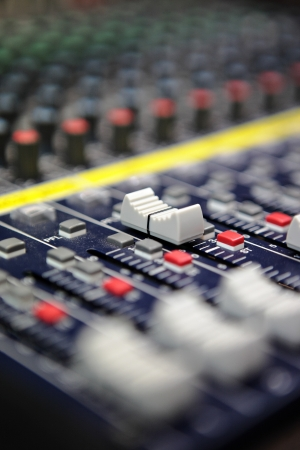 audio mixer: Sound mixer