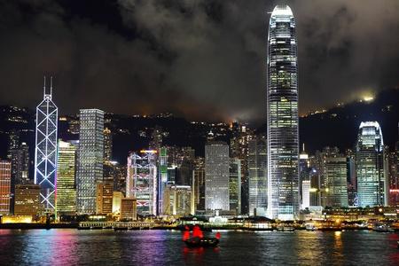 Hong Kong harbor view photo