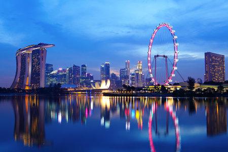 シンガポールの街並