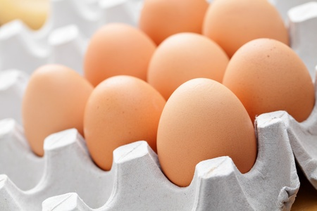 eggs in package Stock Photo - 12557417