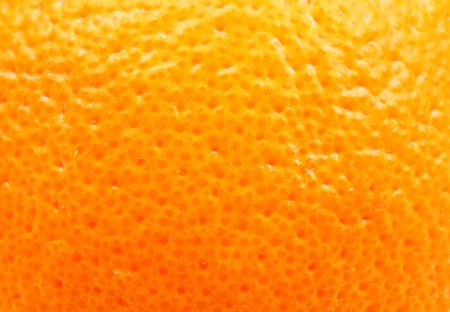 mandarin orange: orange peel close up