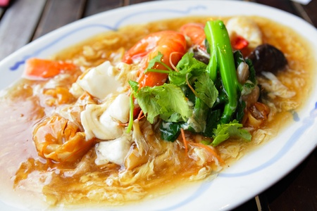 chinese noodle: asian style hor fan