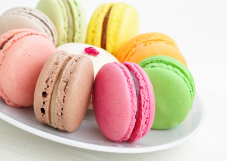 colorful macaron photo