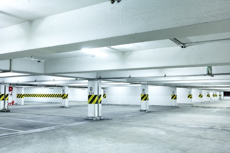 parkint lot Stock Photo - 12559215