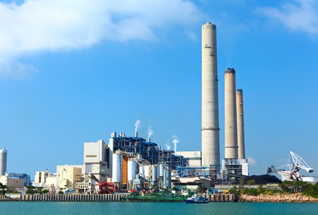 electric power plant Stock Photo - 12559196