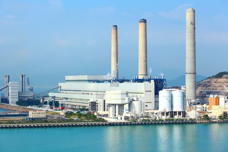 electric power plant Stock Photo - 12559193