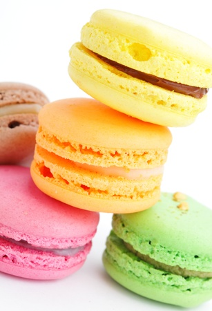 colorful macaroon photo