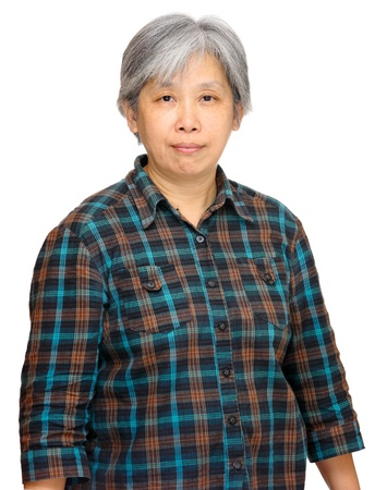 mature asian woman Stock Photo - 12557216
