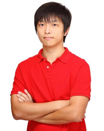 asian man face: asian man Stock Photo