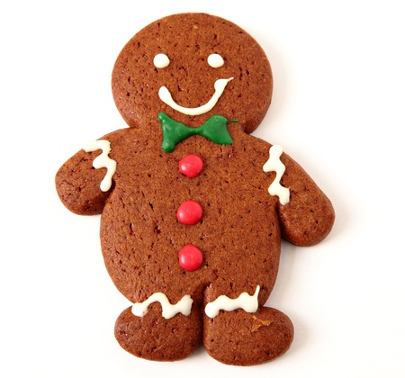 Gingerbread cookie photo