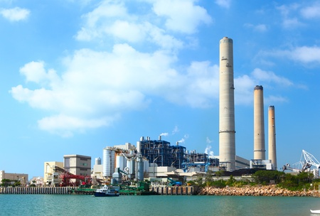 electric power plant Stock Photo - 12880465