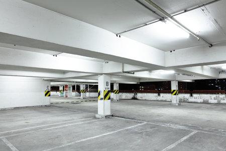 parking garage at night Stock Photo - 12877279