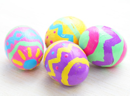 Colorful Easter Egg photo