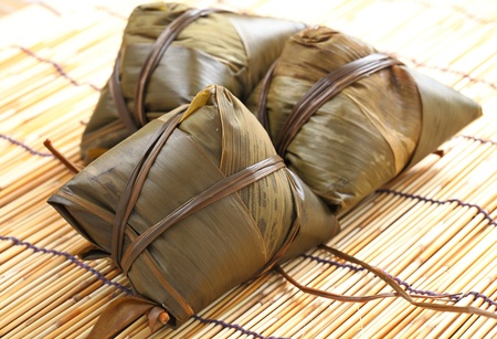 traditional rice dumplings photo