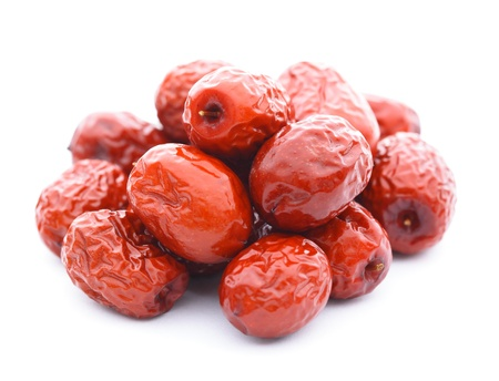 jujube: dried jujube fruits, chinese herbal medicine