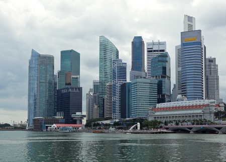 Singapore city Stock Photo - 13209041