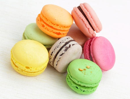 Colorful macaroon Stock Photo