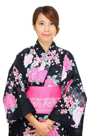 japanese kimono woman photo