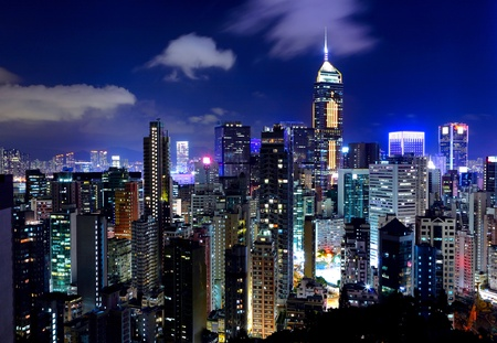Hong Kong Skyline photo