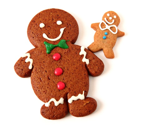 cotton candy: Gingerbread Man