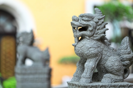 Chinese Stone Lion photo