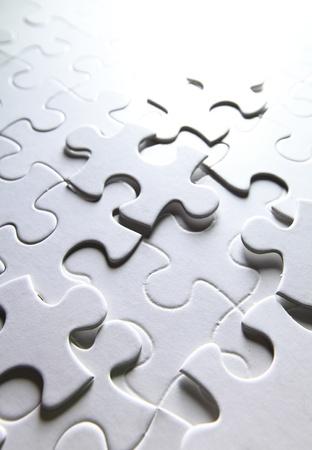 puzzle over: white puzzle