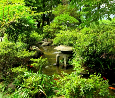 chinese traditional garden photo