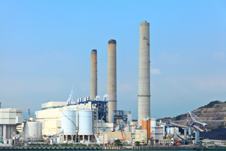coal power plant photo