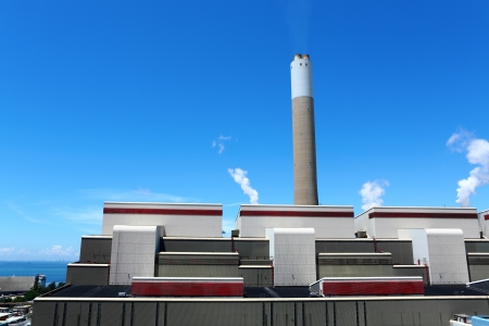 coal fired: Coal fired electric power station Editorial