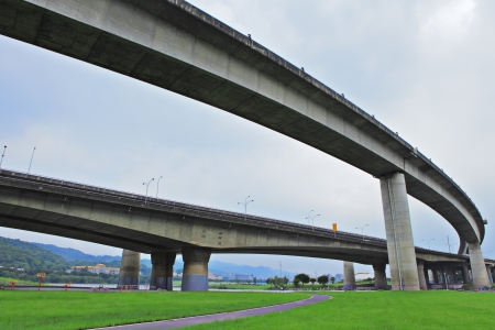 elevated express way photo