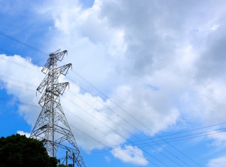 power transmission tower Stock Photo - 15138170