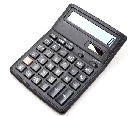 algebra calculator: calculator Stock Photo