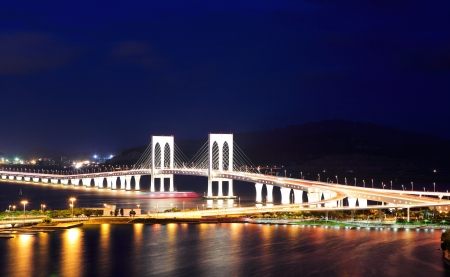 Sai Van bridge in Macau photo