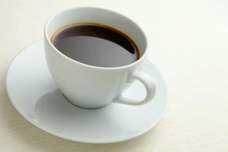 Black Coffee in cup Stock Photo - 15372838