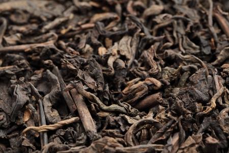theine: Black tea loose dried tea leaves