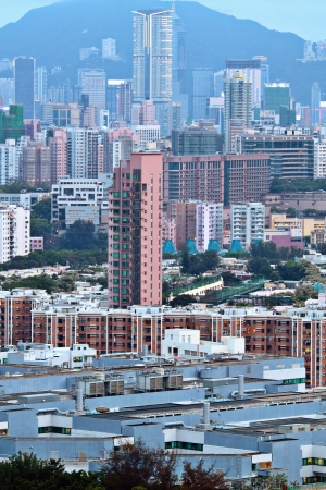 downtown of Hong Kong Stock Photo - 15638774