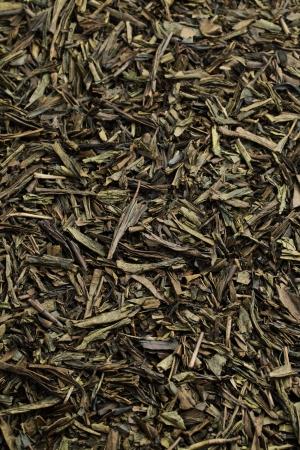 nontraditional: dry green tea
