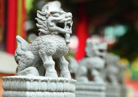 chinese lion statue Stock Photo - 15711935