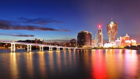 Macau at night Stock fotó