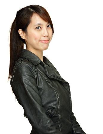 asian young woman photo
