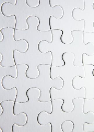 white puzzle photo