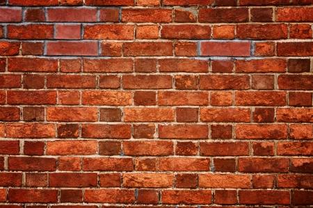 brique: texture vieux mur de brique rouge Banque d'images