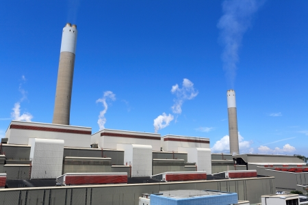 coal fired power station photo