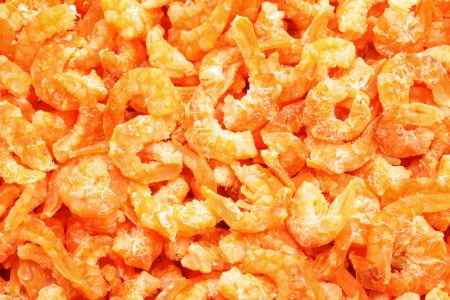 dry shrimp Stock Photo - 17115509